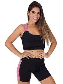 Conjunto Fitness Top + Short