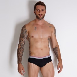 KIT CUECA SLIP COM 3 PE�AS