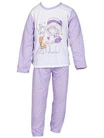 Pijama Infantil Manga Longa