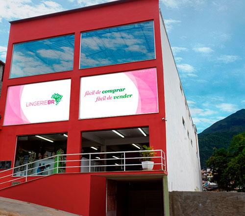 Fachada Sede Lingerie BR em Olaria Nova Friburgo RJ